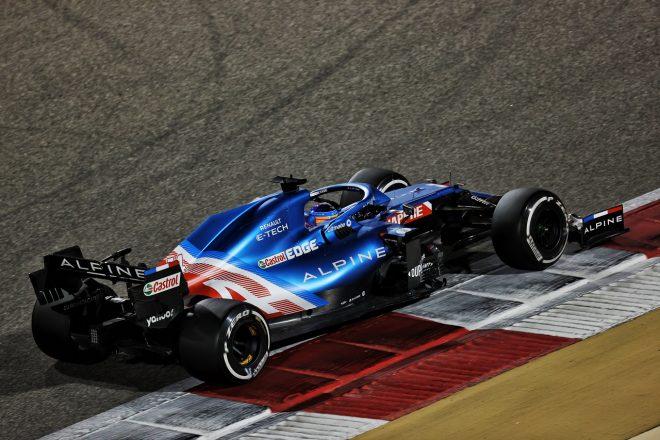 2021年F1プレシーズンテスト フェルナンド・アロンソ(アルピーヌ)