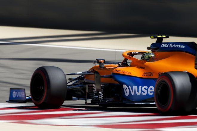 2021年F1プレシーズンテスト3日目 ランド・ノリス(マクラーレン)