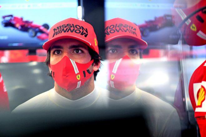 2021年F1プレシーズンテスト カルロス・サインツJr.(フェラーリ)