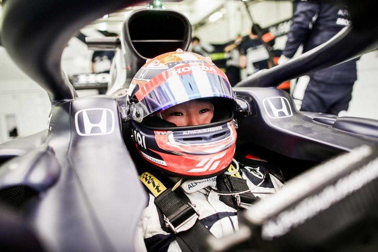 """F1   テストで光る速さを見せた角田。アルファタウリの新型『AT02』は""""戦える""""マシン/F1開幕直前チーム分析(6)"""