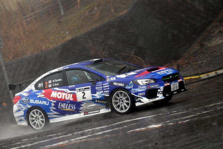ラリー/WRC | JN1初登場のGRヤリスは2台リタイア。新井親子のスバルが新城ラリー1-2/全日本ラリー