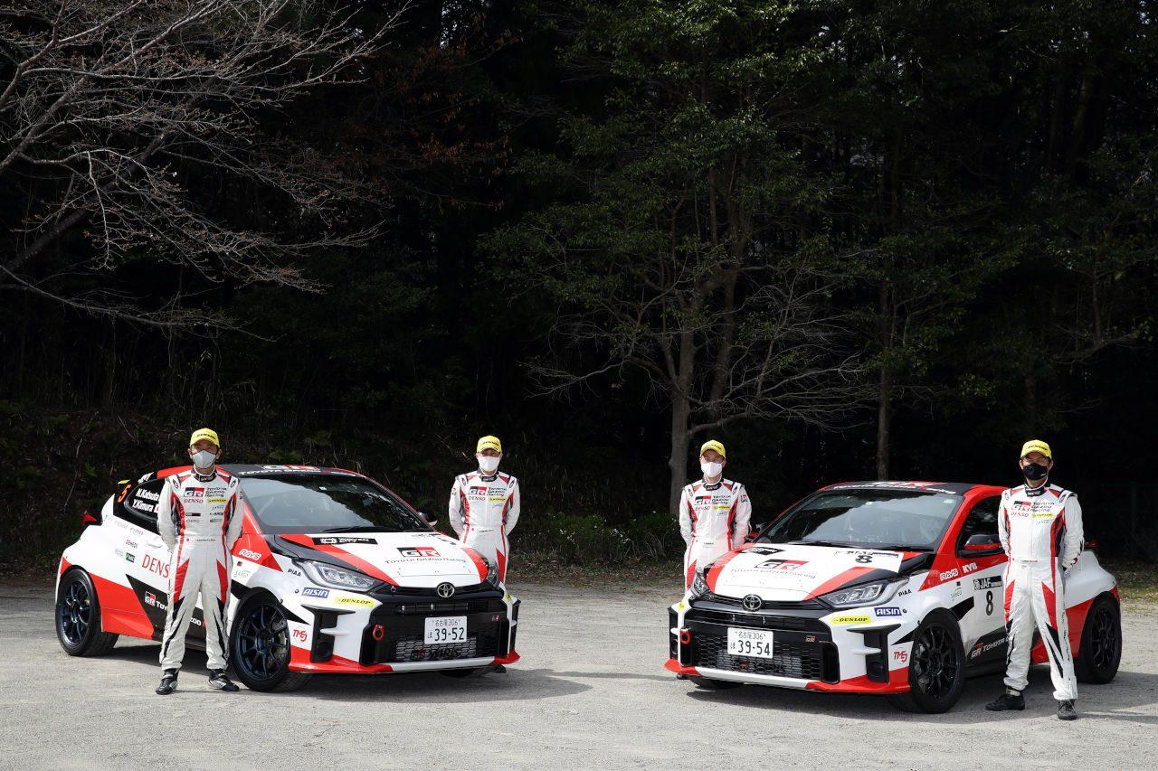 TOYOTA GAZOO Racing、新車GRヤリス2台投入もトラブルで両車リタイア/全日本ラリー