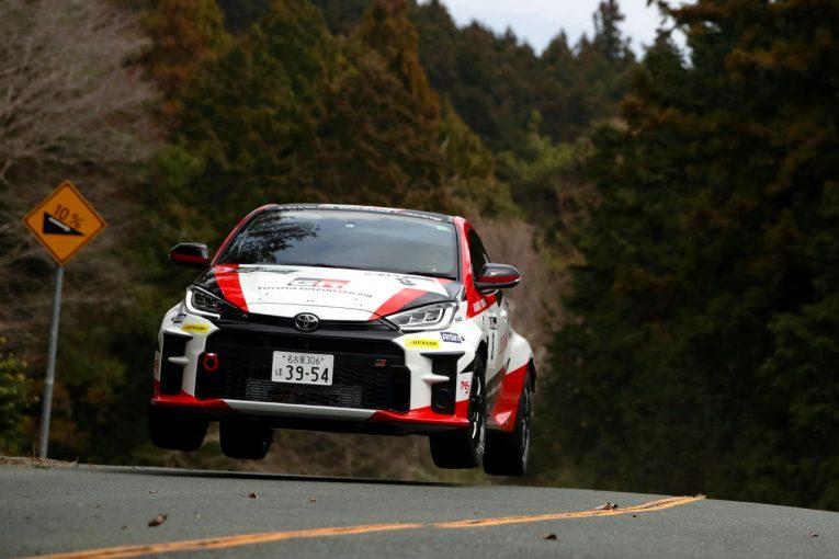 ラリー/WRC | TOYOTA GAZOO Racing、新車GRヤリス2台投入もトラブルで両車リタイア/全日本ラリー