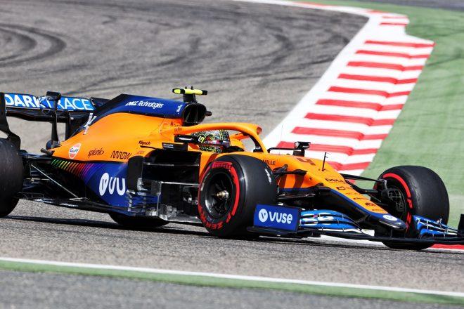 2021年F1プレシーズンテスト ランド・ノリス(マクラーレン)