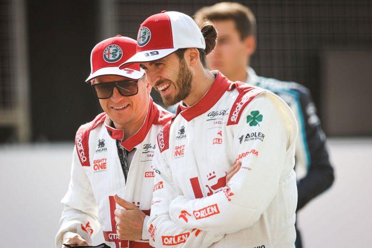F1 | C41のパフォーマンス向上を実感したライコネン。予選負け越しの成績を挽回できるか/F1チームメイト比較(7)