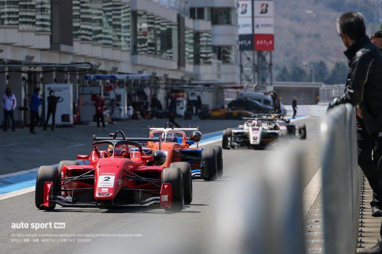 国内レース他 | スーパーフォーミュラ・ライツ富士合同テスト開幕。初日は佐藤蓮がトップタイムをマーク