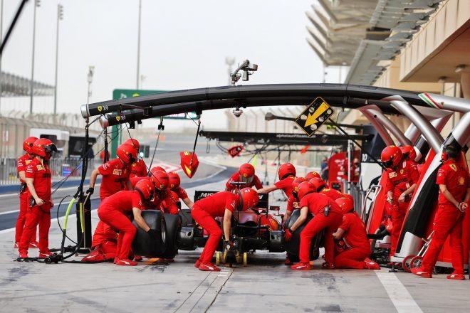 2021年F1プレシーズンテスト シャルル・ルクレール(フェラーリ)