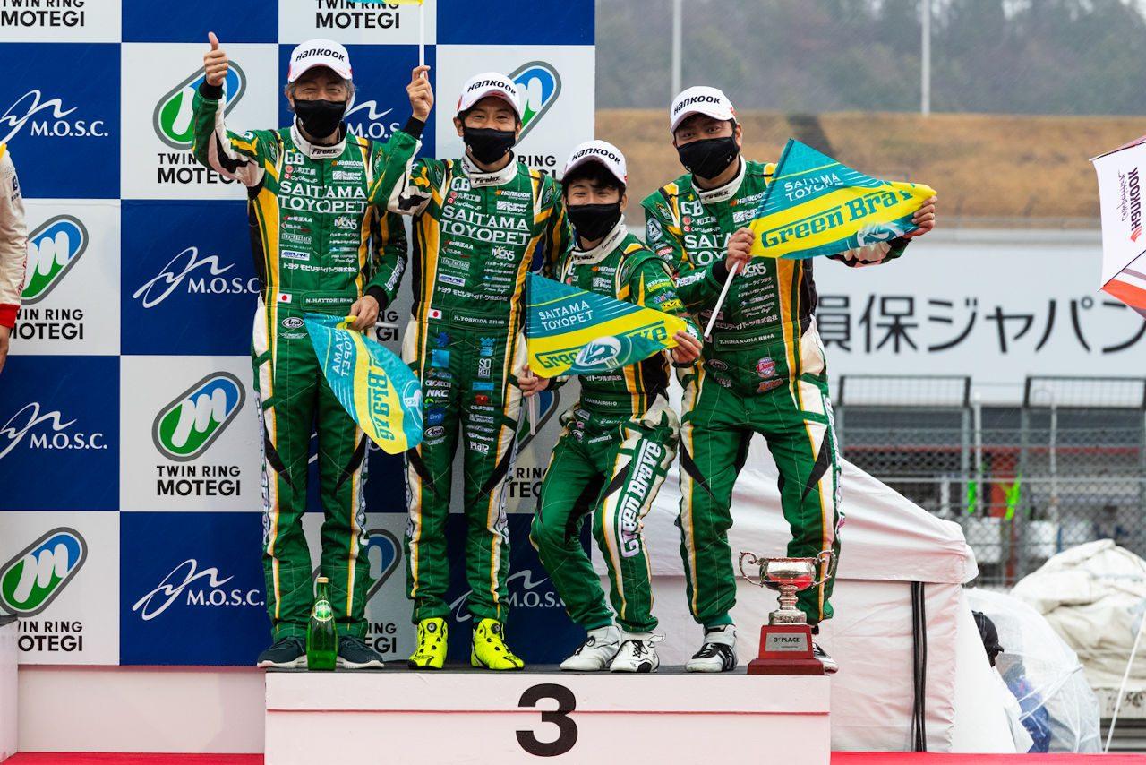埼玉トヨペットGreen Brave 2021スーパー耐久第1戦もてぎ レースレポート