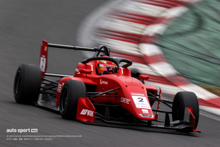 国内レース他 | スーパーフォーミュラ・ライツ富士合同テストは佐藤蓮が2日連続のトップタイム
