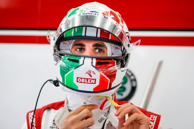 2021年F1第1戦バーレーンGP アントニオ・ジョビナッツィ(アルファロメオ)