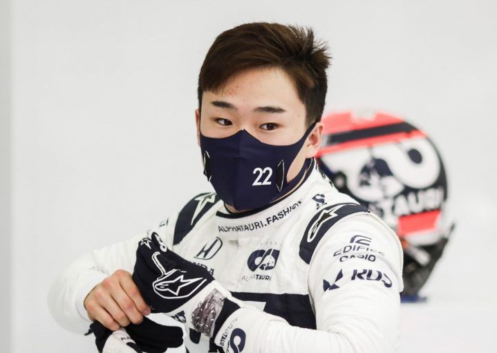 F1 | 角田裕毅、首位から0.447秒差の7番手「最高の初日。予選でポテンシャルを披露するのが楽しみ」アルファタウリ・ホンダ【F1第1戦】