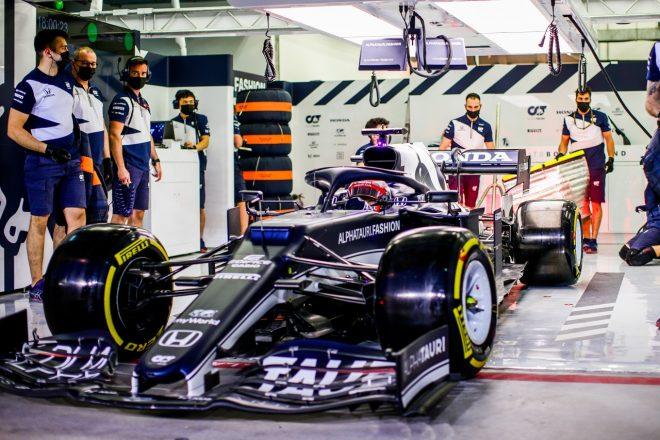 2021年F1第1戦バーレーンGP 角田裕毅(アルファタウリAT02・ホンダ)