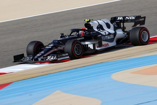 2021年F1第1戦バーレーンGP ピエール・ガスリー(アルファタウリ・ホンダ)