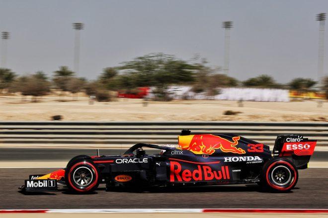 2021年F1第1戦バーレーンGP マックス・フェルスタッペン(レッドブルRB16B・ホンダ)