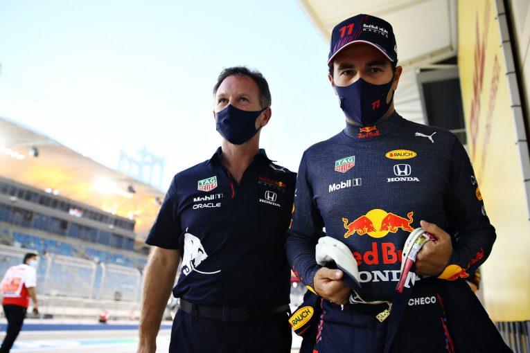 F1 | ペレス「予選ラップでの課題を克服し、メルセデスと戦いたい」レッドブル・ホンダ【F1第1戦金曜】