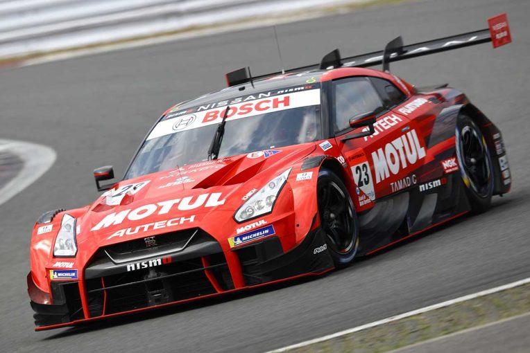 スーパーGT | MOTUL AUTECH GT-Rが最速タイムを記録。スーパーGT富士公式テスト1日目午前セッション1