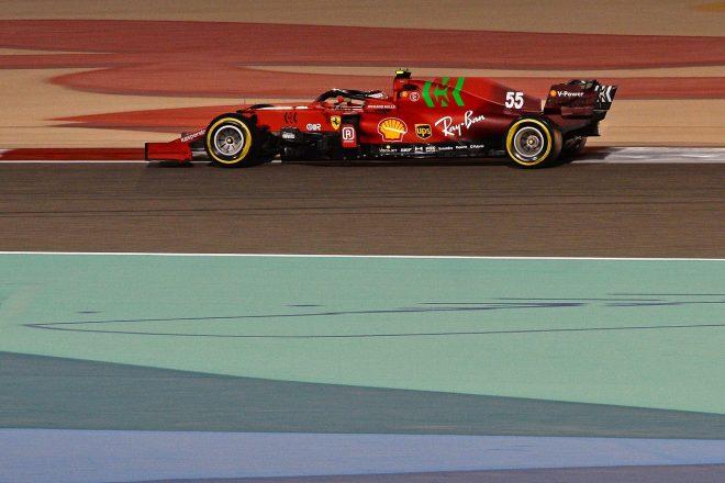 2021年F1第1戦バーレーンGP カルロス・サインツJr.(フェラーリSF21)