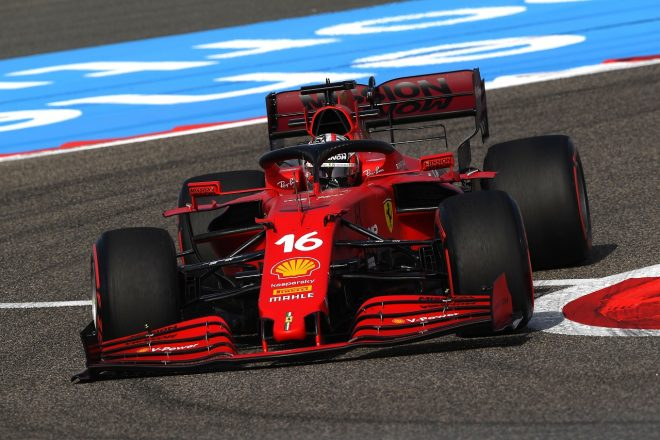 2021年F1第1戦バーレーンGP シャルル・ルクレール(フェラーリ)