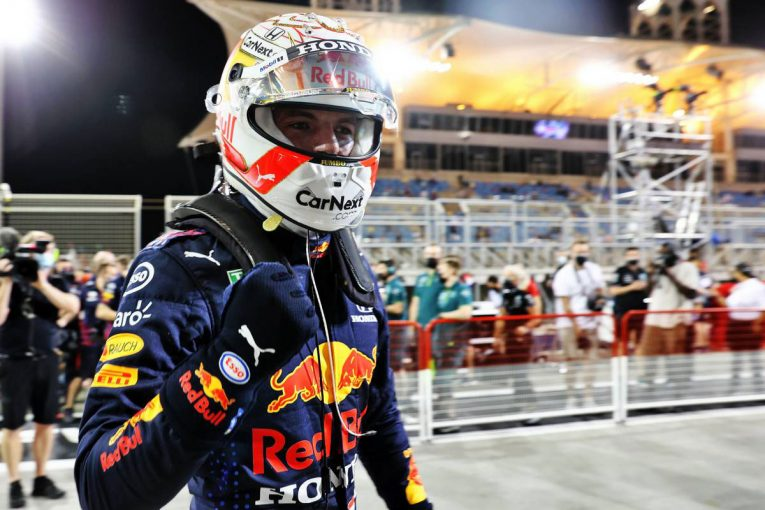 F1 | レッドブル・ホンダのフェルスタッペン、後続に0.4秒差で圧巻のPP。角田裕毅は13番手【予選レポート/F1第1戦】