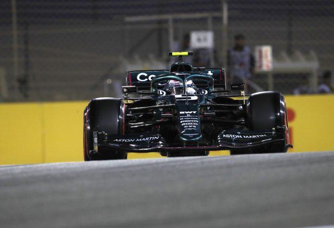 2021年F1第1戦バーレーンGP セバスチャン・ベッテル(アストンマーティン)