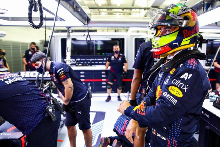 F1 | ペレス予選11番手「ミディアムでQ2を突破するという戦略を遂行できなかった」レッドブル・ホンダ【F1第1戦】