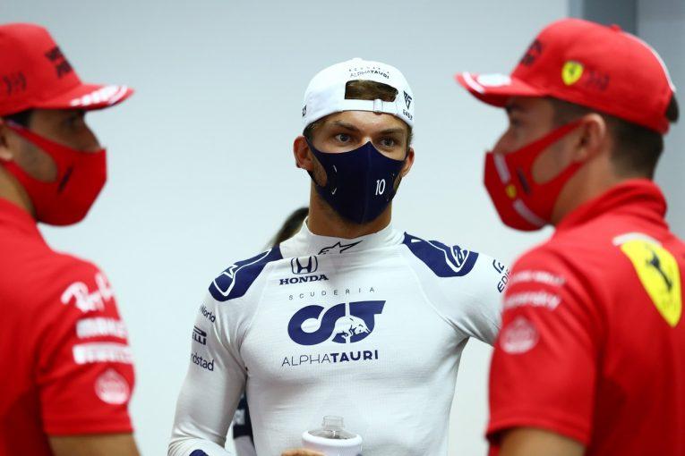 F1   表彰台が見える位置からスタートするガスリー「冷静にチャンスをつかみにいく」アルファタウリ・ホンダ【F1第1戦予選】