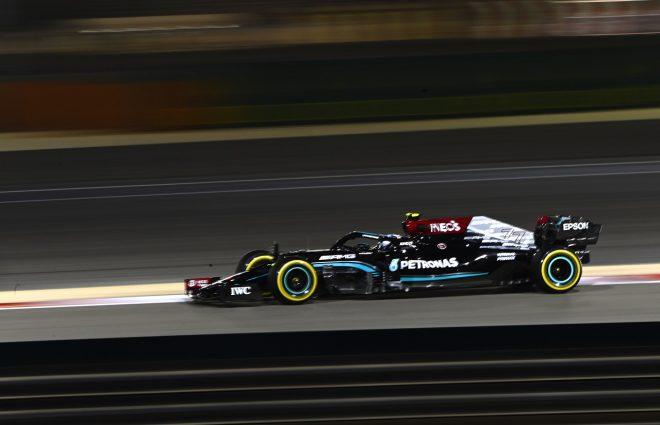 2021年F1第1戦バーレーンGP バルテリ・ボッタス(メルセデス)