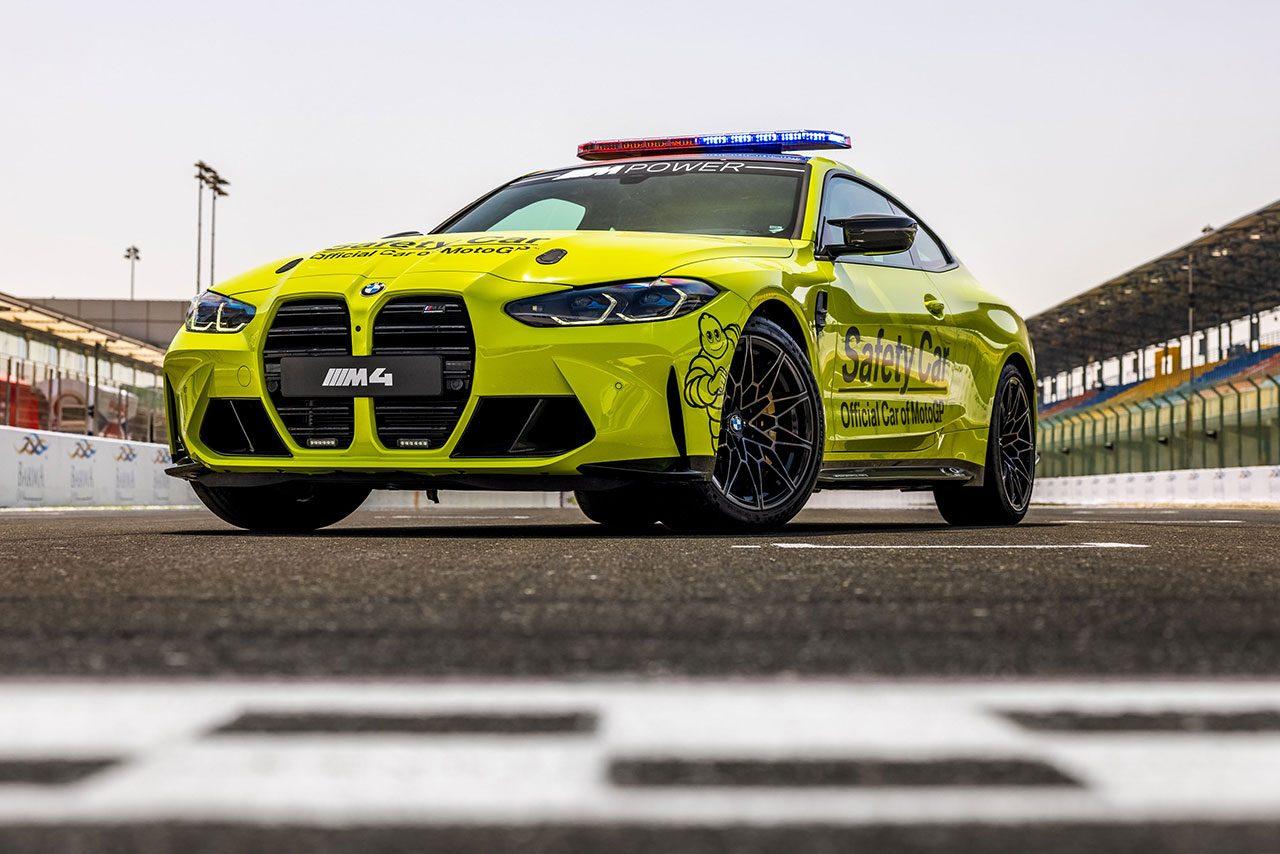 BMW供給のMotoGPセーフティカー&セーフティバイクがカタールでお披露目