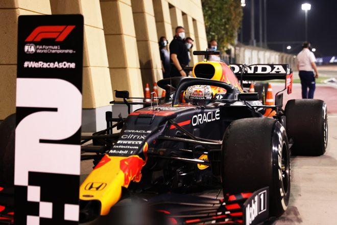 2021年F1第1戦バーレーンGP マックス・フェルスタッペン(レッドブル・ホンダ)が2位獲得
