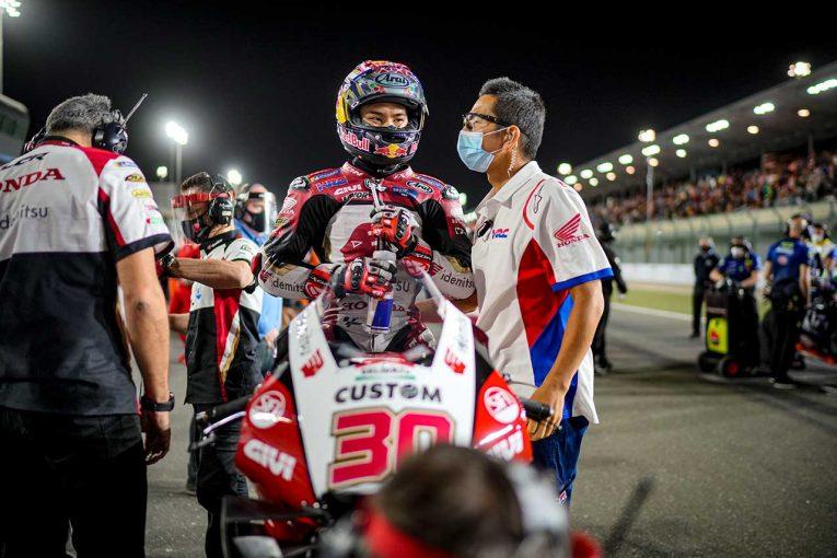 MotoGP | 中上貴晶「レースに向けて自信があったので、本当に申し訳ない気持ち」/MotoGP第1戦カタールGP決勝