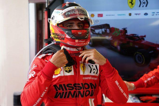2021年F1第1戦バーレーンGP カルロス・サインツJr.(フェラーリ)