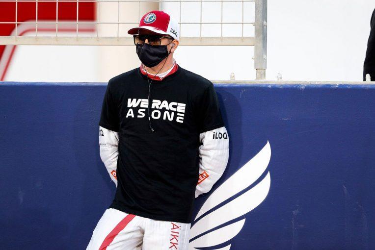 F1 | ライコネン「ずっと入賞圏内にいたのに、ポイントを持ち帰れず残念」:アルファロメオ F1第1戦決勝
