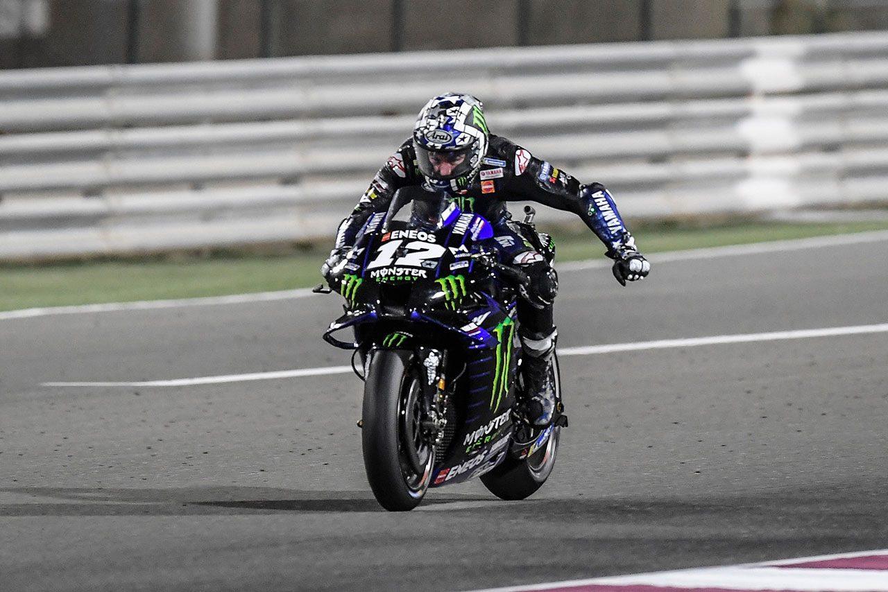 MotoGPコラム/取り組みの姿勢に見える今季のビニャーレス、リヤタイヤ温存が奏功/MotoGP第1戦カタールGP   MotoGP   autosport web