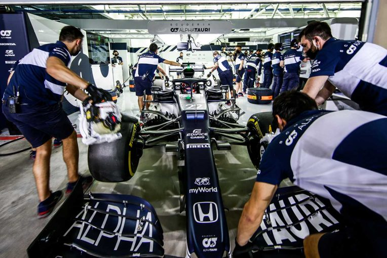 F1 | 「彼の走りは新世代ドライバーの質の高さを証明」:角田裕毅の海外メディア評価 F1バーレーンGP