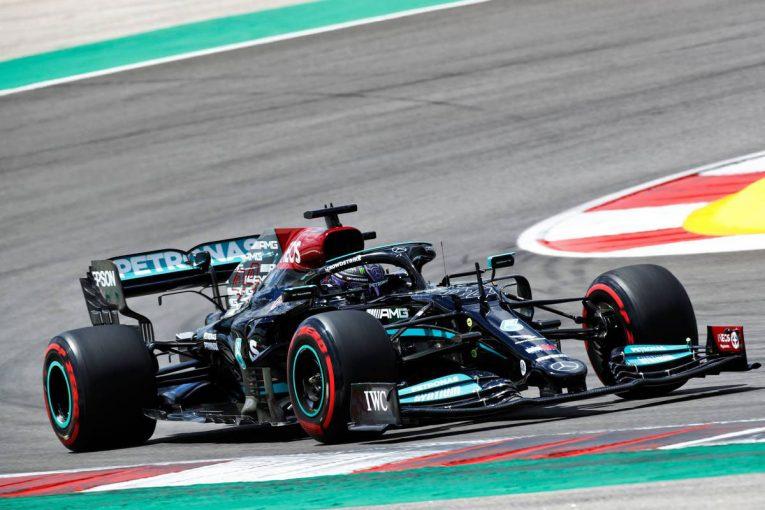 F1   ポルトガルGP FP2:ソフトタイヤのペースは伸びずも、ハミルトンがトップ。フェルスタッペンが僅差で2番手