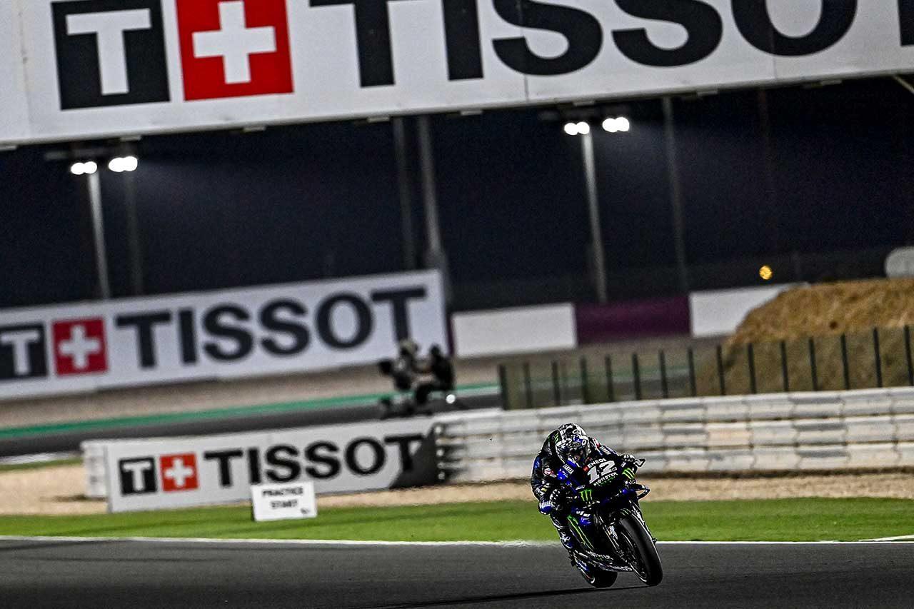 2021年MotoGP第2戦ドーハGP予選 マーベリック・ビニャーレス(モンスターエナジー・ヤマハMotoGP)