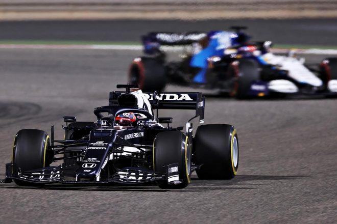 2021年F1第1戦バーレーンGP角田裕毅(アルファタウリ・ホンダ)