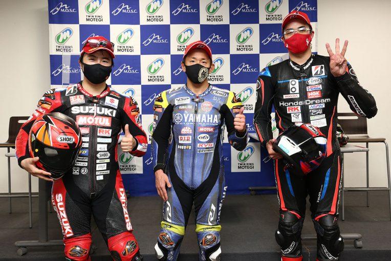 MotoGP | 中須賀克行「後半はリズムよく得意なところを走れた。赤旗に救われた」/全日本ロード第1戦もてぎ レース2会見
