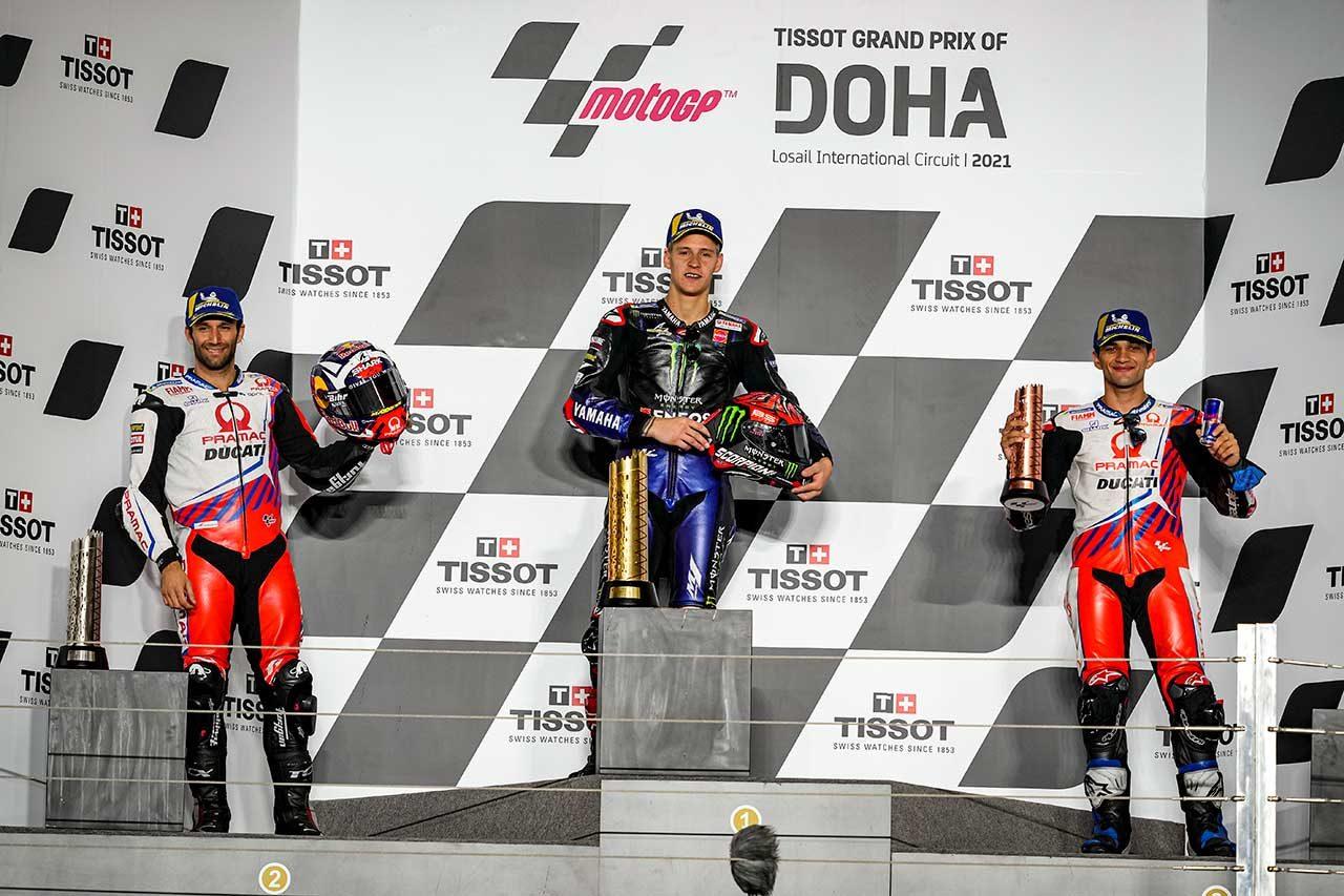 2021年MotoGP第2戦ドーハGP決勝