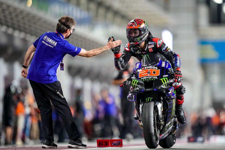MotoGP   MotoGP第2戦:ドーハGPウイナーはクアルタラロ。終盤まで続いた接戦の優勝争い制す