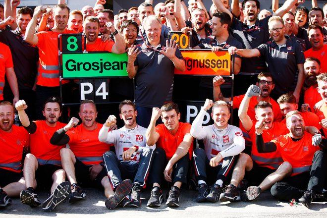 2018年F1第9戦オーストリアGP ハースF1チーム