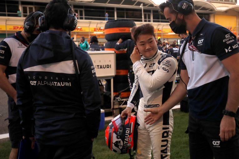 F1 | ホンダF1本橋CEが語る角田裕毅のデビュー戦「複雑極まりない操作に難なく対応。表彰台を期待できる体制での飛躍を願う」