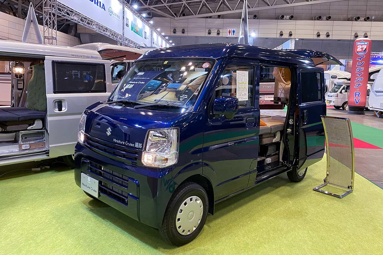 【市販車情報】電化製品の対応力アップで移動オフィスを実現!最新キャンピングカーを紹介
