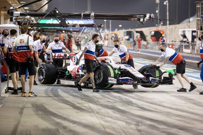 2021年F1第1戦バーレーンGP ニキータ・マゼピン(ハース)