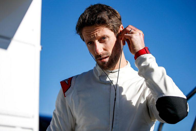 F1 | ハースのシートを失ったグロージャン、最後のF1テストのチャンスを掴む。すでにシート合わせも