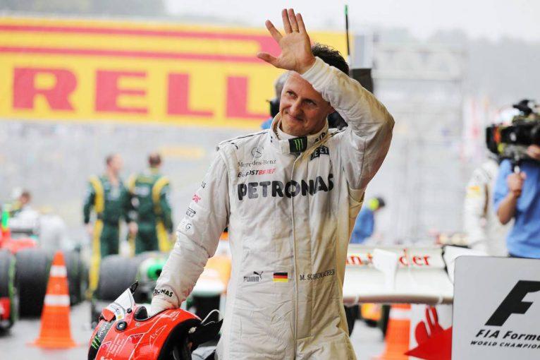 F1 | 「心から彼に勝ってほしかった」メルセデスF1に大きく貢献も、勝利を挙げられなかったミハエル・シューマッハー