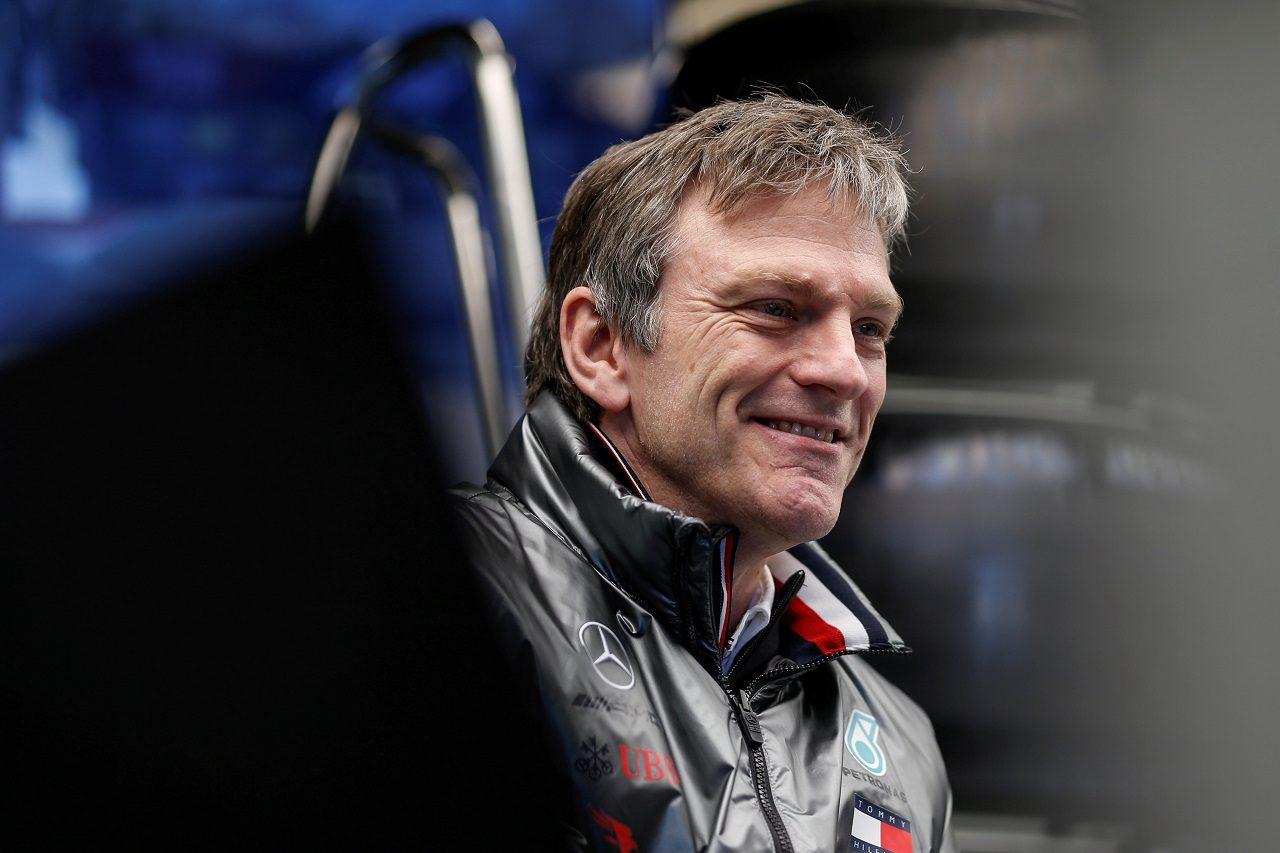 メルセデスF1チームのテクニカルディレクター、ジェームズ・アリソン