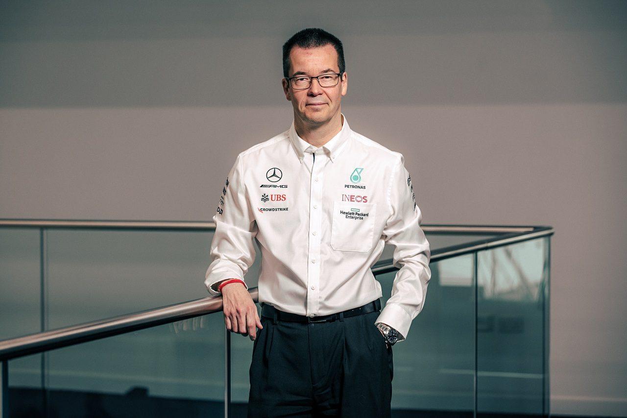 メルセデスF1チームのテクニカルディレクターに就任するマイク・エリオット