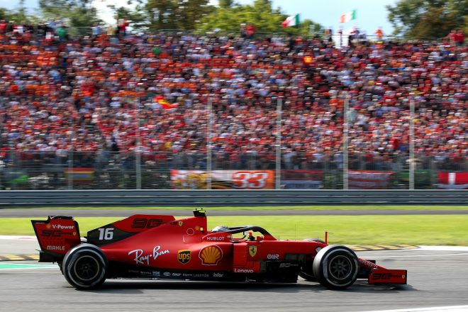2019年F1イタリアGP シャルル・ルクレール(フェラーリSF90)