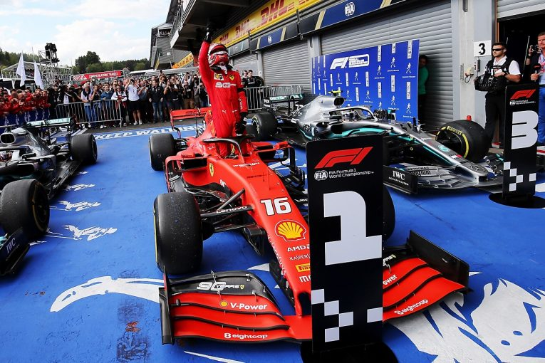 F1 | フェラーリF1、ルクレールに初優勝時のマシンSF90をプレゼント